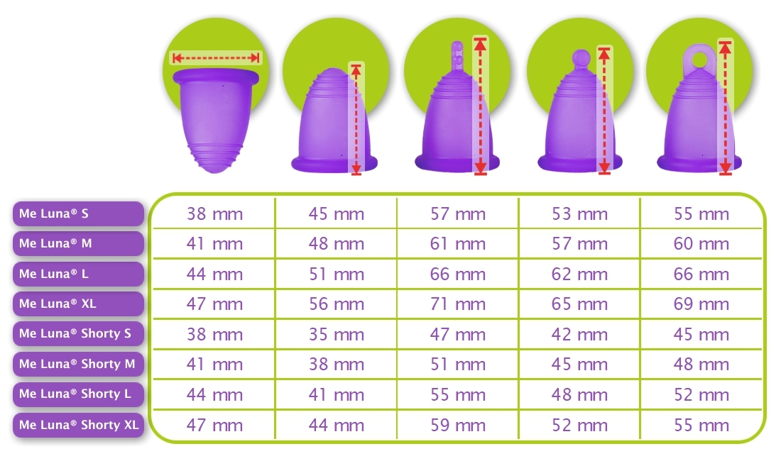 Cup menstruelle choisir sa cup